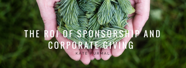 ROI Sponsorship corporate giving