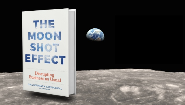Moonshot Cover on Moon